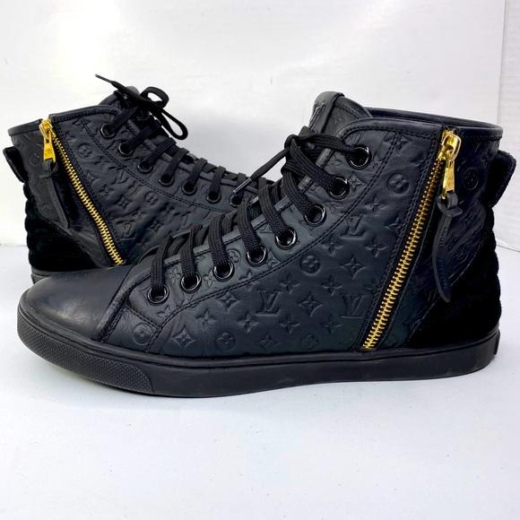 Louis Vuitton Women's shoes Booties Black Sz EU 8